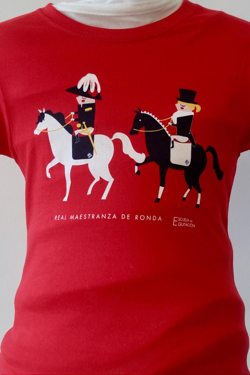 serigrafia-textil-camiseta-equitación-real-maestranza-ronda